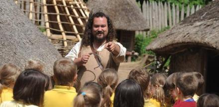 Educational work at St Fagans National Museum