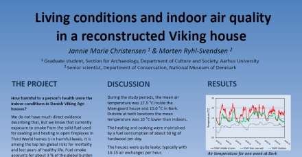 Click here to download a copy of Living conditions and indoor air quality in a reconstructed Viking house by Jannie Marie Christensen and Morten Ryhl-Svendsen