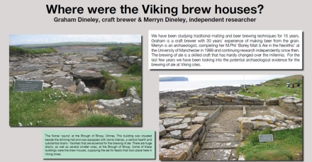Where were the Viking brew houses by Dineley and Dineley